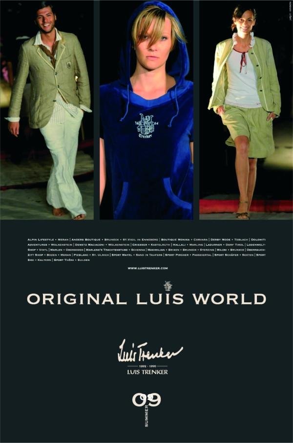 Anzeige Luis Trenker